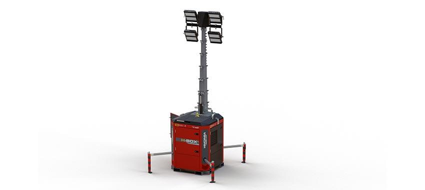 HBOX+, la nueva torre de iluminación HIMOINSA