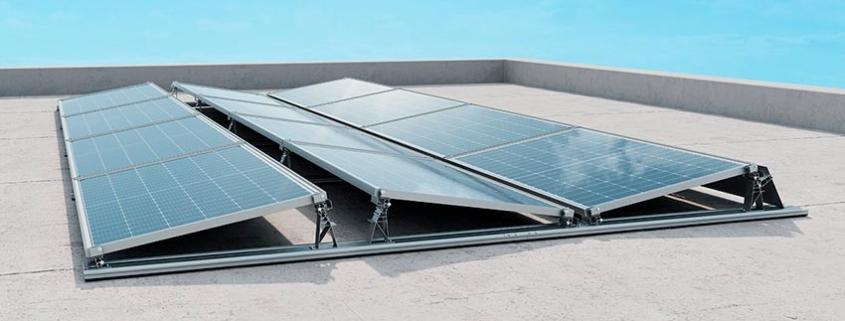 Nuevo sistema de montaje en tejado plano IBC AeroFix G3