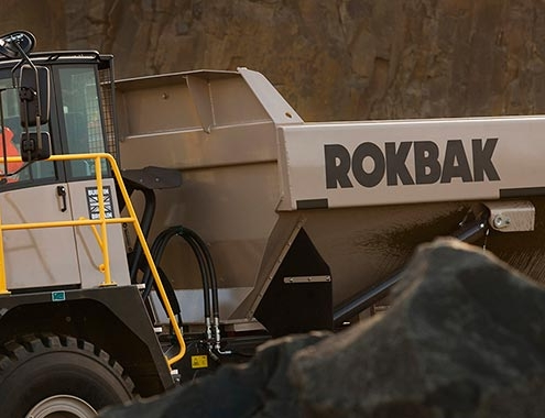 Terex Trucks cambia de nombre a Rokbak