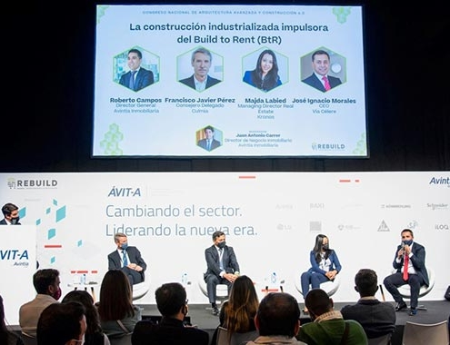 Grupo Avintia celebró foro sobre construcción industrializada, Rebuild 2021