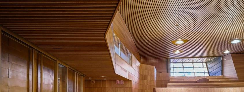 GUBIA-SLATS, el nuevo sistema de techo de lamas de bambú