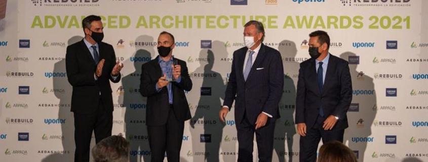 iLOQ gana el premio Rebuild Innovación de Producto