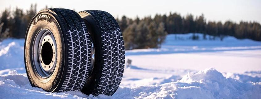 MICHELIN X MULTI GRIP, el nuevo neumático de camión para condiciones invernales severas