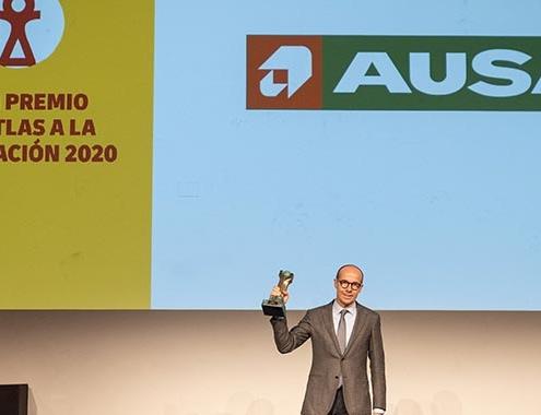 AUSA, galardonada con el Gran Premio DHL Atlas Exportación